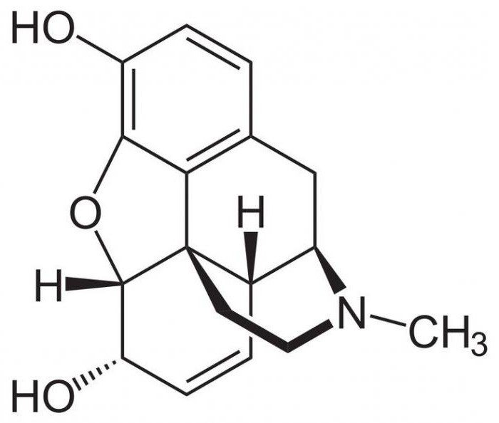 kaj je morfij in kje se uporablja