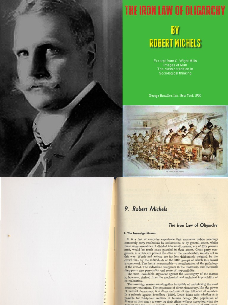 Robert Michels e il suo libro