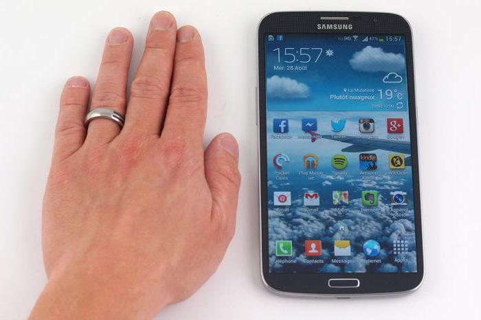 foto del telefono più grande del mondo