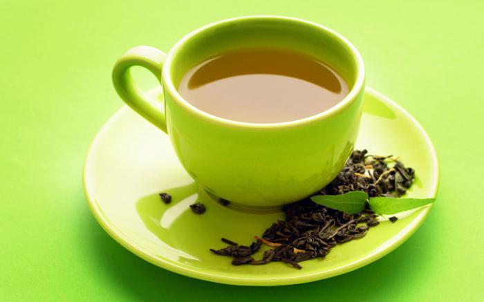 zelený čaj kalorií