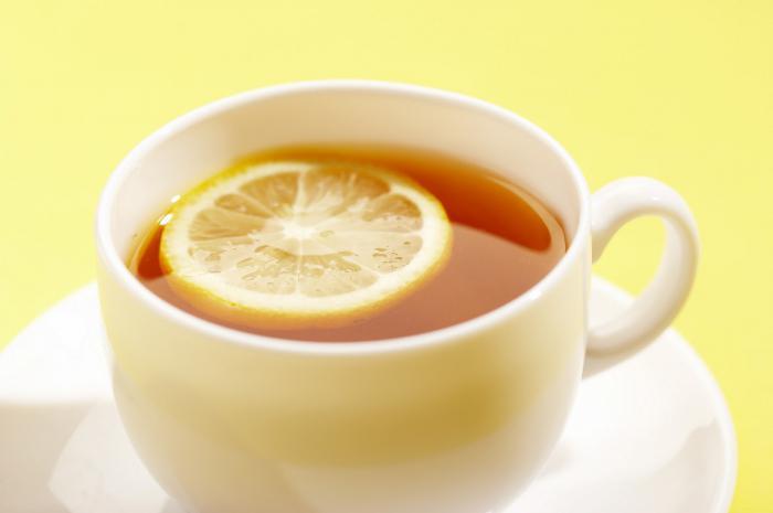 citronový čajový kalorií
