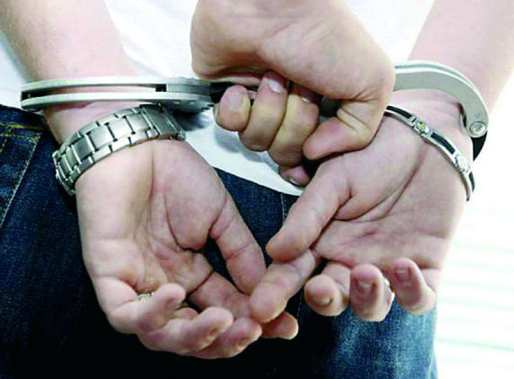 Uhićenje - kazna za pljačku