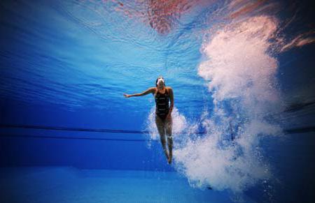 marzę o pływaniu w basenie