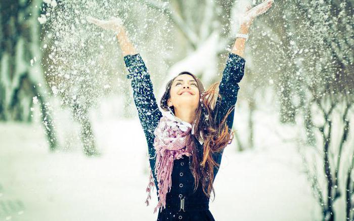 san snijeg snijeg zima