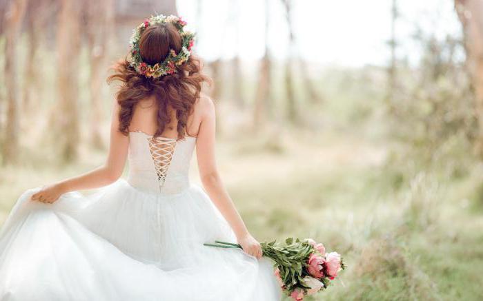 essere una sposa in un sogno