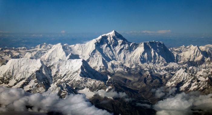 co je nejvyšší hora světa