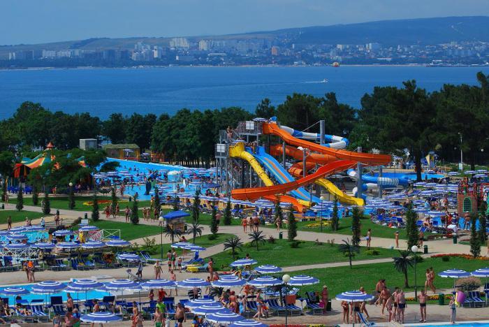 La più grande foto del parco acquatico in Russia