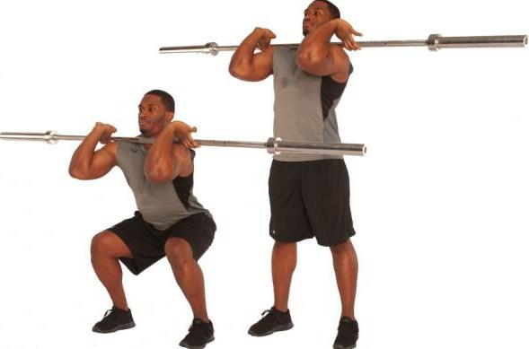 dviganje uteži pri domačem programu vadbe