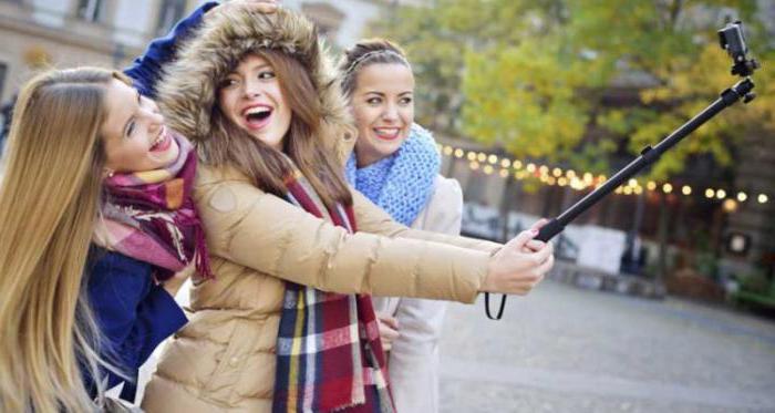 što je ime selfie stick