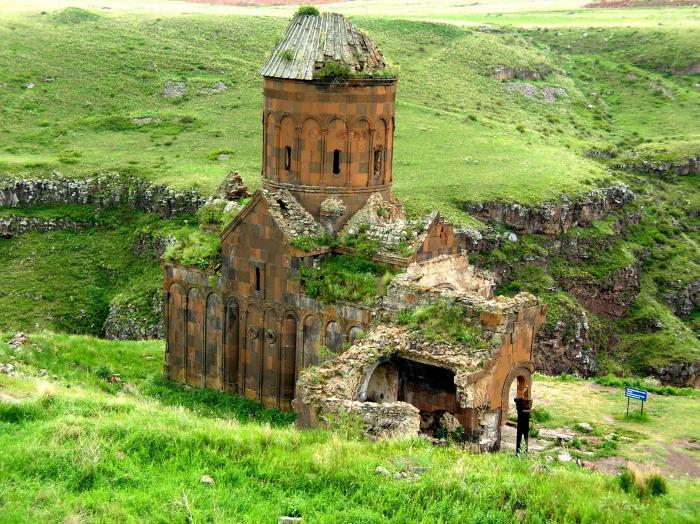 la capitale dell'Armenia è Ani