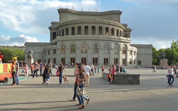 Qual è la capitale dell'Armenia?