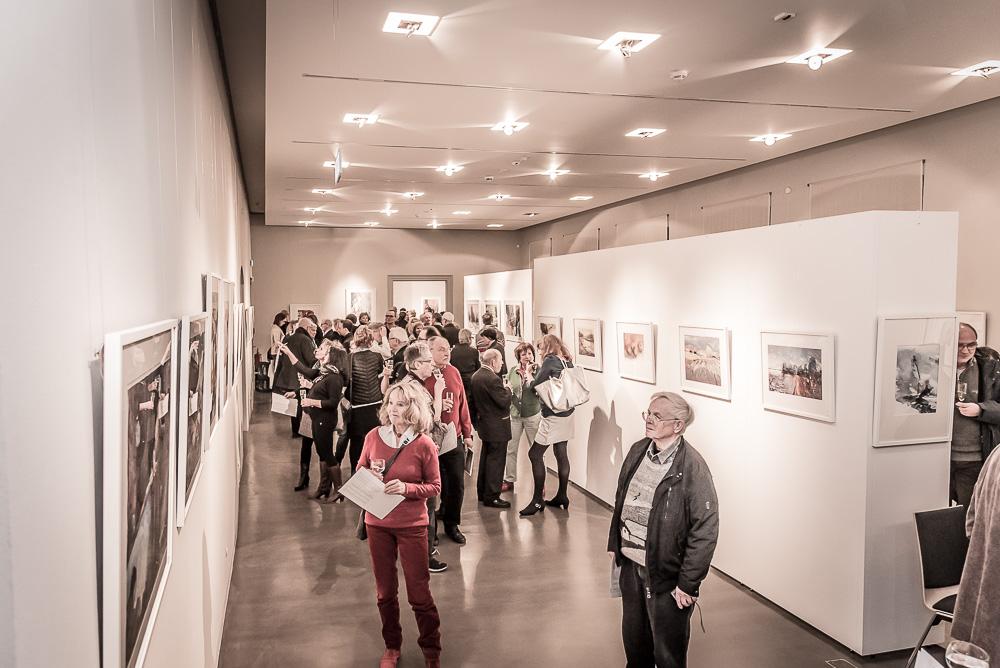 Vernissage di artisti di fotografia