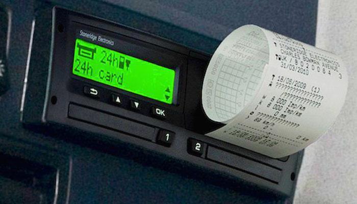 penalità al conducente per mancanza di un tachigrafo