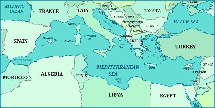 оно море у Грчкој Родос