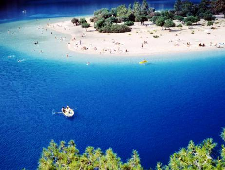 kakšno morje je v Turčiji