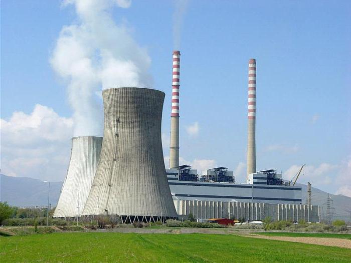 Esempi di centrali elettriche TES