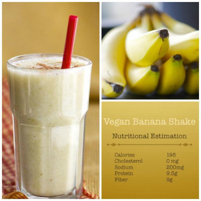ci sono vitamine nella banana