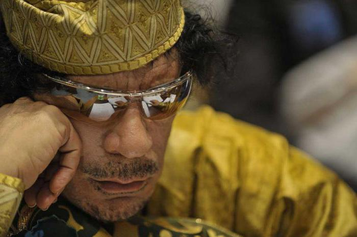 cosa ha ucciso Gheddafi