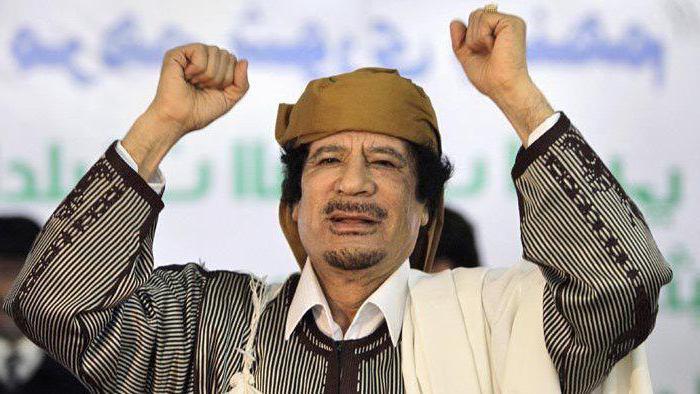 il destino della moglie di Gheddafi