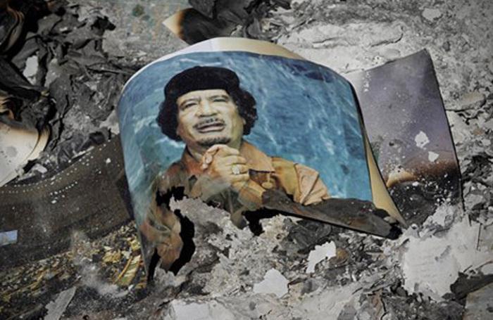 come è stato ucciso Gheddafi