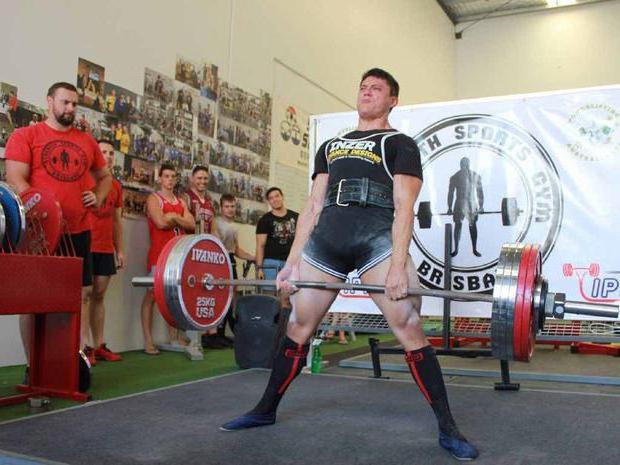 record di powerlifting