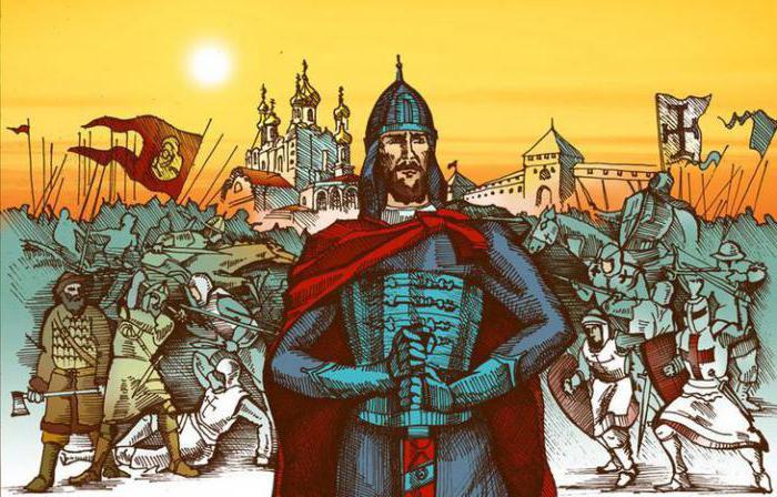 Ciò che ha reso famoso Alexander Nevsky