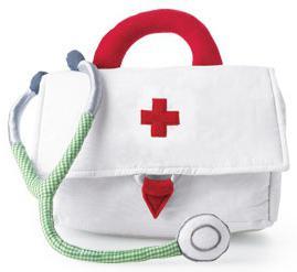 kit di primo soccorso per un bambino in mare