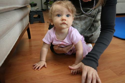 quanti mesi il bambino gattona?