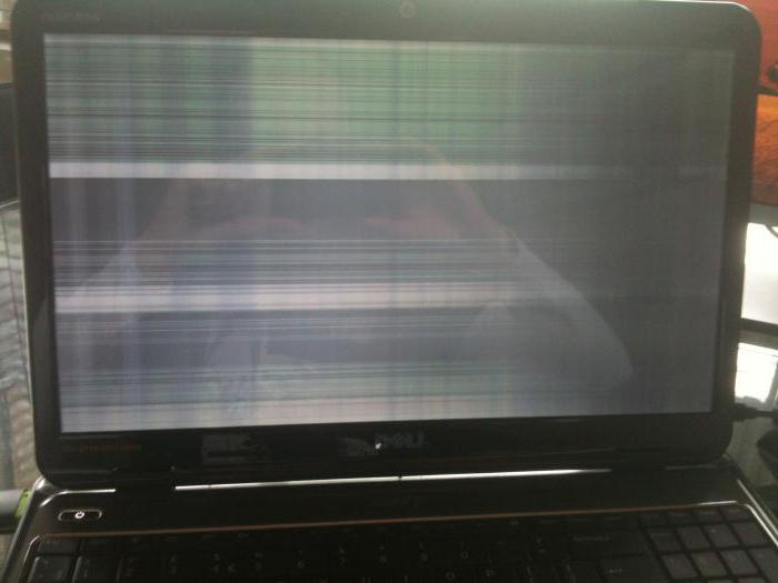 strisce orizzontali sullo schermo