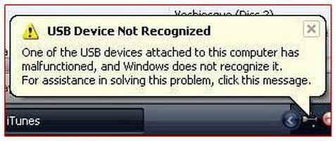 Jednotka USB flash není detekována