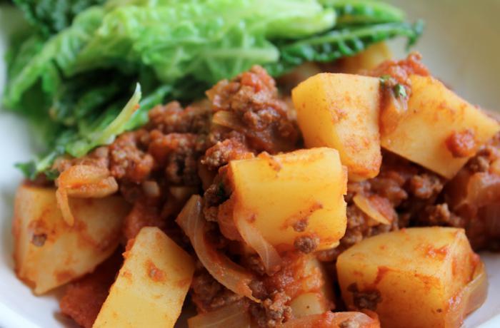kaj narediti za mleto meso in krompir