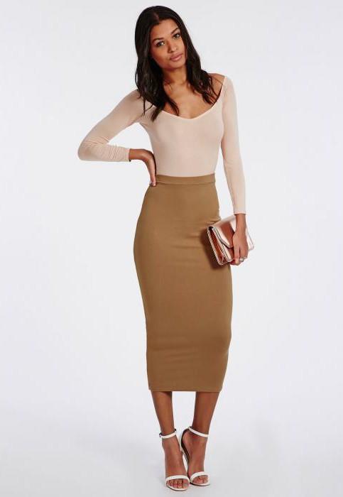 midi молив пола с какво да се носят