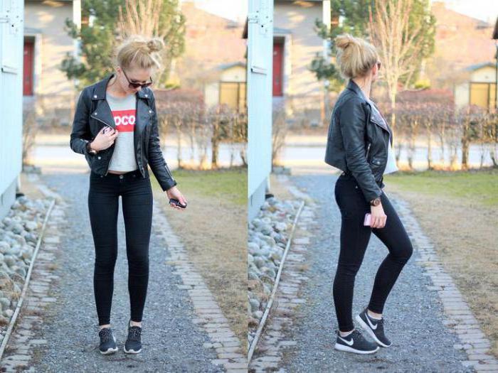 foto di jeans neri