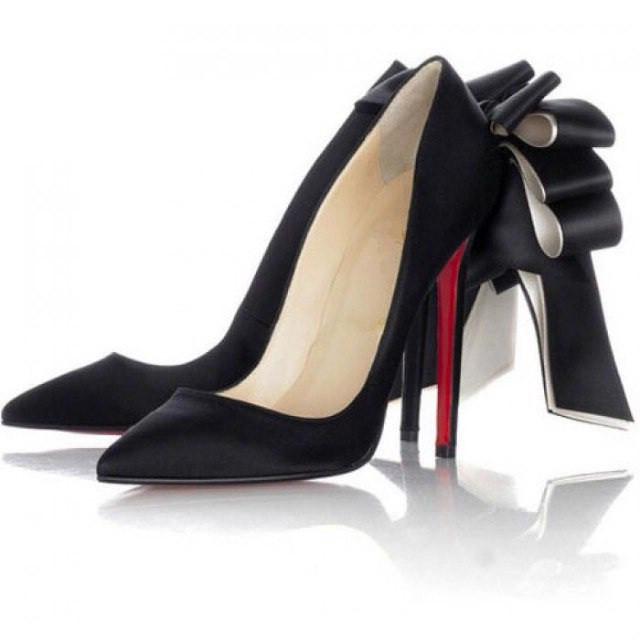 обувки с висок ток