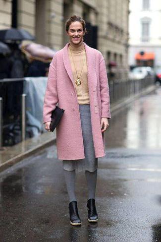 co ubrać w szare rajstopy w zimie