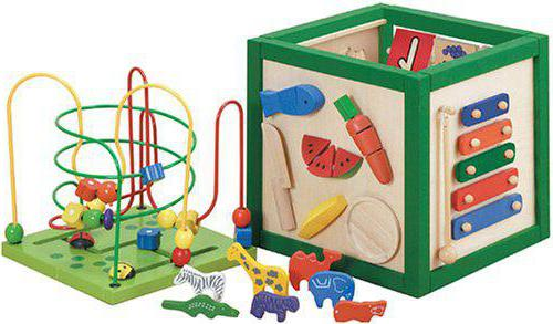 Kakšne igrače potrebujejo otroci v 1 letu in 6 mesecih