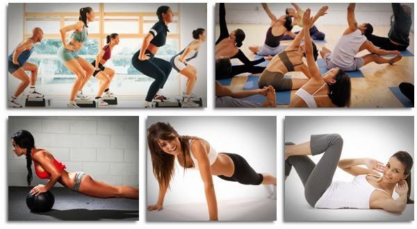obrázky, jak zhubnout cvičení
