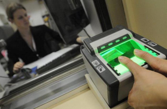 jak získat otisky prstů pro schengenské vízum