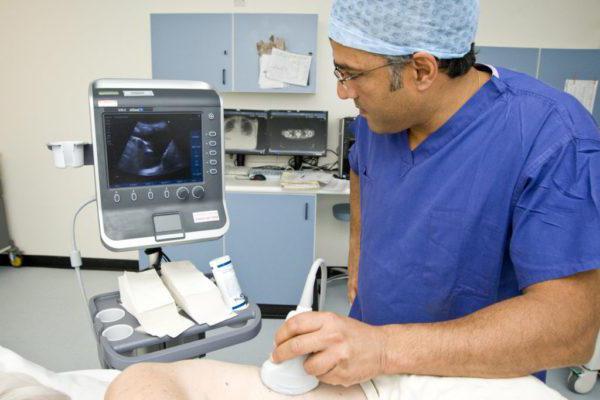 ki kaže ultrazvok medenice