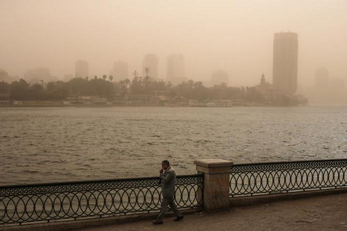 L'Egitto a gennaio