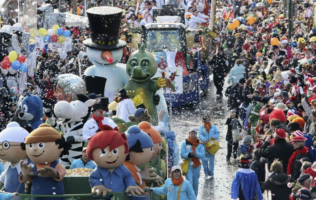 Carnevale in Germania a novembre