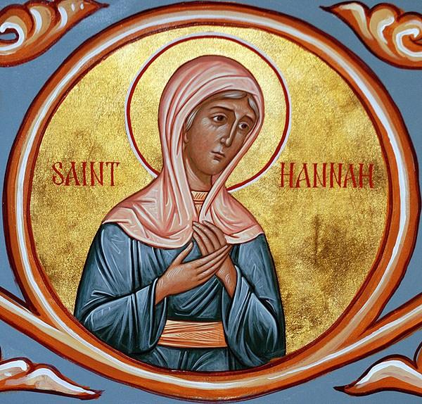 Santa Profeta Anna (madre del profeta Samuele)