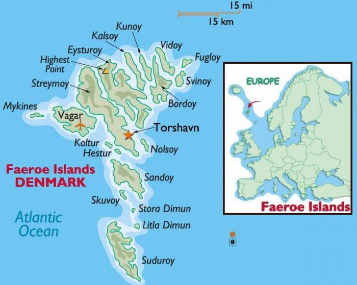 Mjesto za upoznavanja na Farskom otoku
