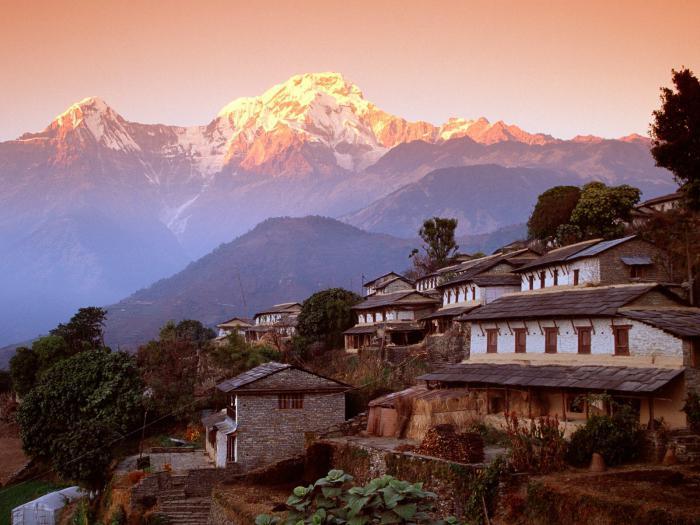 kjer so gore Himalaje