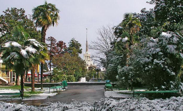 ve kterém městě Ruska je nejteplejší zima