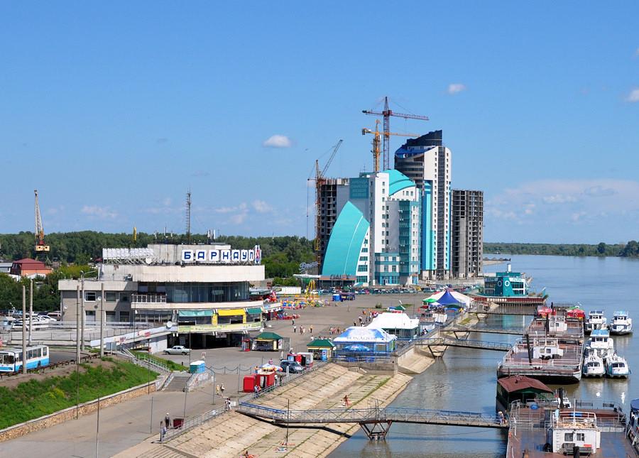 Dove si trova in Russia a Barnaul