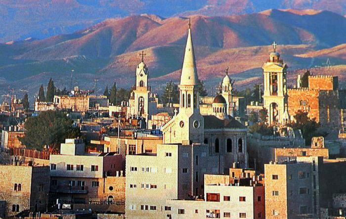 dov'è Betlemme il paese