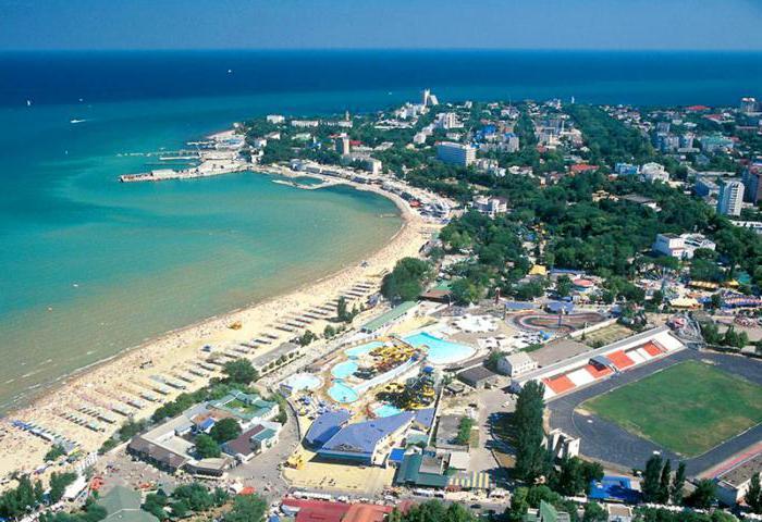 obala crnog mora regije Krasnodar