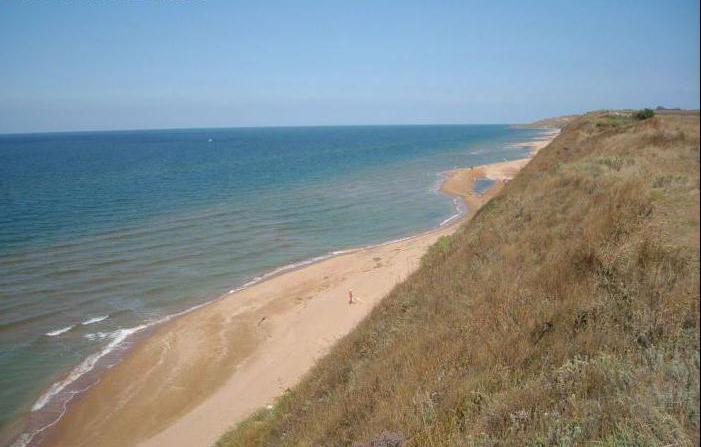 czyste morze na Terytorium Krasnodarskim, gdzie
