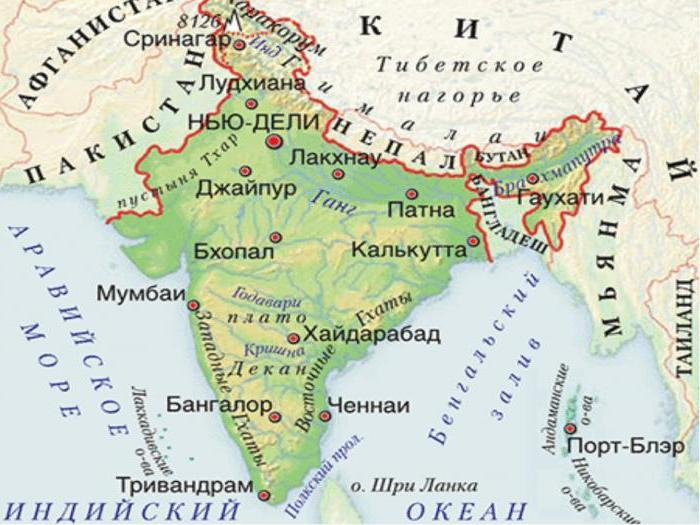 Cartina Dell India Del Nord.Dove Si Trova L India Posizione Dell Antica India